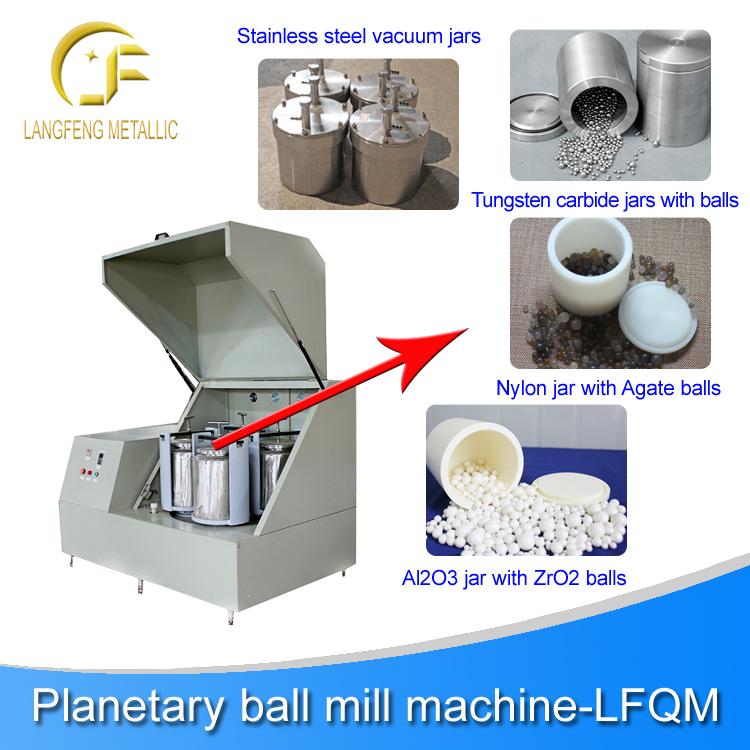 Laboratory Planetary Ball Mil Gt Small Lab Ball Mill Machine